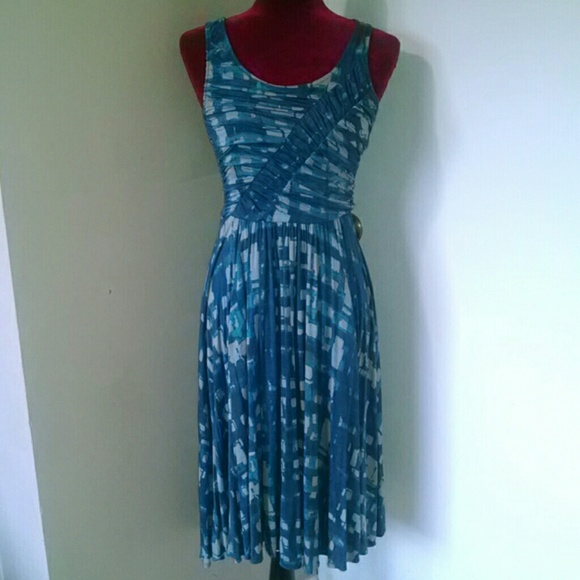 Anthropologie Dresses & Skirts - Plenty by Tracy Reese print ruched sundress